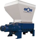Gross range of four-shaft shredders enables you to shred and recycle long and oversize wood waste